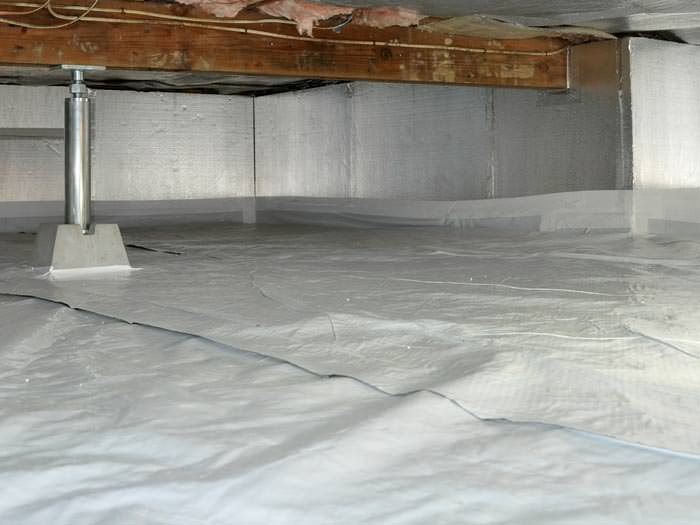 An introduction to crawl space drainage Basement blanket insulation