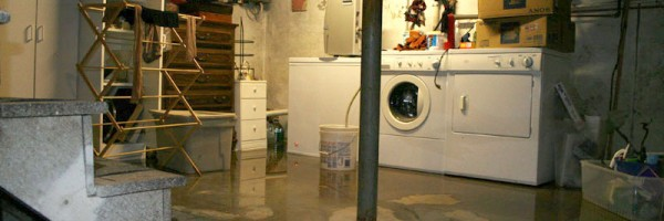 how to deal comprehensively with a basement flood problem