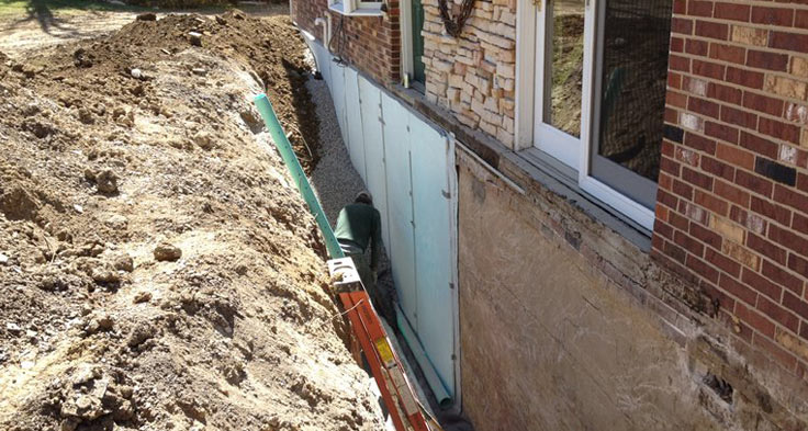 External And Internal Basement Waterproofing Everdry Waterproofing