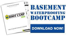 basement waterproofing bootcamp