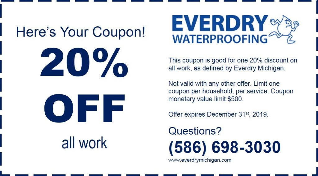 everdry-waterproofing-michigan-coupon-2019