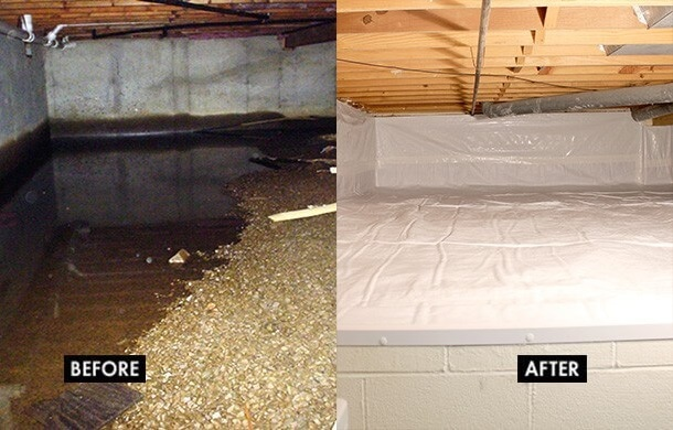 crawl-space-encapsulation-michigan-before-and-after